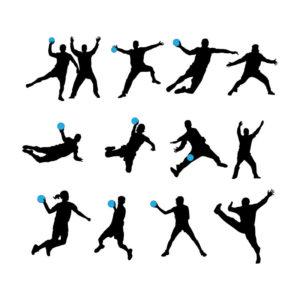 handball-vector-silhouettes