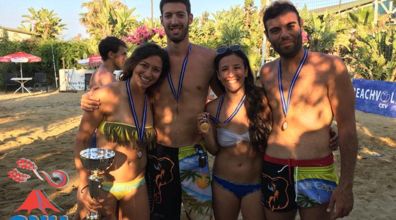 CNU 2017 – Beach Volley – Oro nel femminile, Bronzo nel maschile !