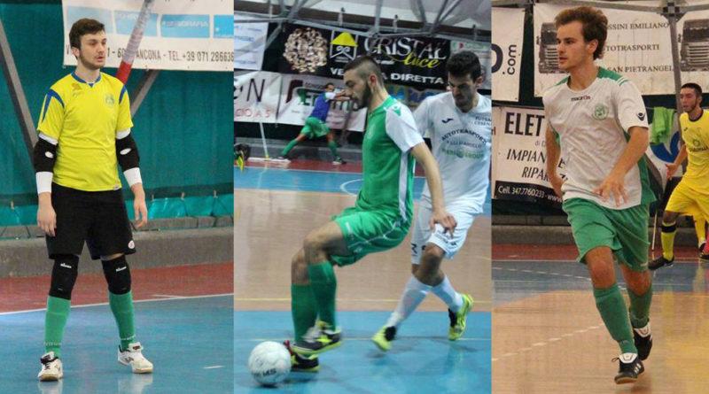 Calcio a 5:  Marchionne, Pellegrino e Centonze ai saluti