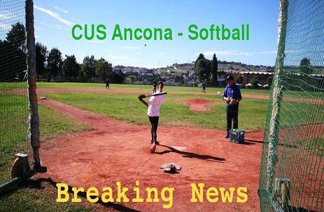 Softball, continuano gli allenamenti