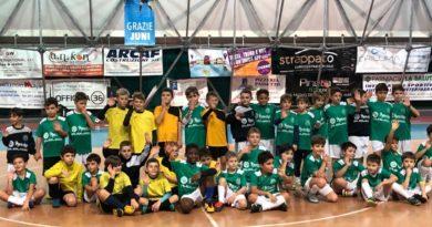 Calcio a 5: Gemellaggio scuole calcio CUS Ancona e Sportware