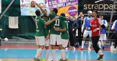 Calcio a 5: Fioretti-Belloni, per il CUS Ancona quarta vittoria consecutiva