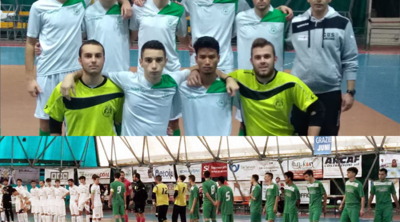 Calcio a 5: Sconfitta per l'U21, pari per l'U19