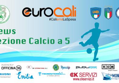 Calcio a 5: Varato il calendario con l'incognita Prato