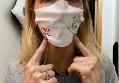Volley: Le mascherine del Cus Ancona Volley griffate dalla Prink cartucce di Osimo