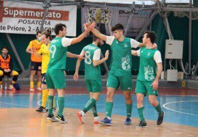 Calcio a 5: Il CUS Ancona cala il settebello