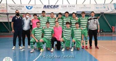 Calcio a 5: L'Under 19 conquista la vetta della classifica