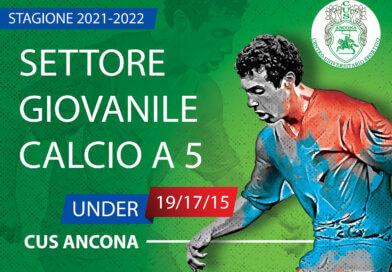 Calcio a 5: Al via il reclutamento per le formazioni giovanili