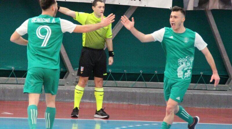 Calcio a 5: Il CUS Ancona ripare nel segno dei gemelli Benigni
