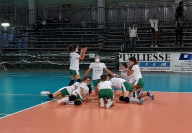 Volley: Come vola l'under 13 del Cus Ancona